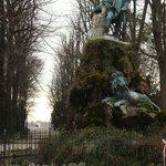 Garibaldi statue in Giardini Garibaldi
