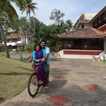cycling in the resort