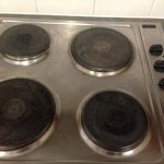 Old & tired stovetop