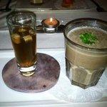 Mushroom Consomme and Cream of Mushroom Soups
