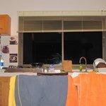кухня - гостиная на вилле