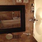 coin miroir lavabo