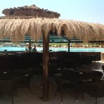 seating area behind the Lagoon Pool