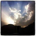sunset over Hod