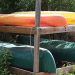 Free canoe and Kayak use at Blind Pass Condominiums