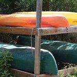 Free canoe and Kayak use at Blind Pass Condominiums