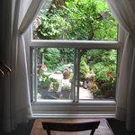 vue chambre jardin