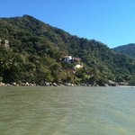 Mountainous coastline of Banderas Bay