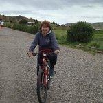 Ciclismo...una divertida actividad en el hotel Titilaka.