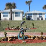 Ocean Front Cottages - New Landscaping!