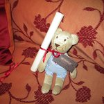 Teddy left for children in family rooms