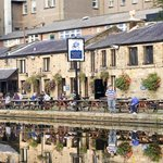 Canalside setting in Historic Lancaster