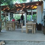 view of eating area