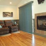 Lindauer Living Area/Fireplace