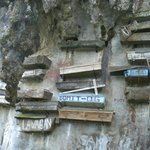 Hanging Coffins Near the Echo Valley, Sagada