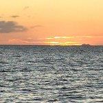 Sail Liberty: Sun setting on the Carribean