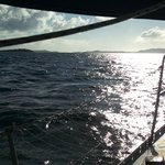 Sail Liberty: Sun on the water