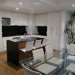 Cuisine, salle à manger - penthouse 6e étage