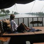 Princess on the houseboat