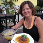 wonderful seared tuna and passion fruit margarita