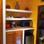 Kitchenette in Cabana 1