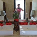 Bathroom by the pool