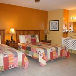 Room #1- 2 queen beds
