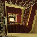 tromba delle scale vista dal terzo piano
