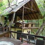 comedor en el  canopy