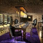 Veladora's private wine room.
