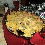 Paella de futos de mar, excelente!!!
