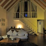 Dhoni Loft Suite at night