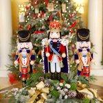 Beautiful Christmas decorations.