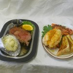 The best prime rib and lobster
