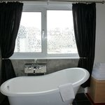 superior room with roll top bath