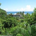 Aqua Bay Villa's Southern view