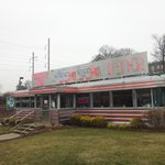 Classic old time diner on Germantown Avenue!