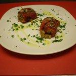 involtini di peperoni grigliati