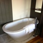 Large tub in Andaz Large Loft Room #414