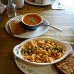 Mac & Cheese and Soup