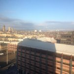 View from 11th floor - can see Sauchiehall Street buildings