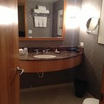 bathroom - fairly modern
