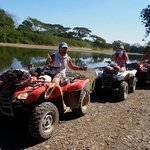 Quads for all to get around the island
