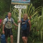 Hiking to the Red Frog Beach