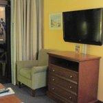 Flat panel tv, new furniture