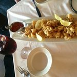Crispy-crunchy calamari!