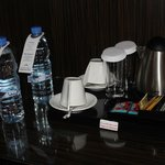 complimentary water, tea etc.