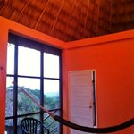 screened porch in bungalow