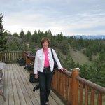 Looking Toward Hillside From Porch