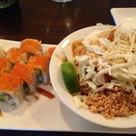 Pad Thai and BBQ Eel Maki